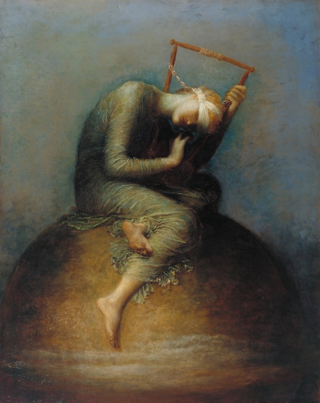 Hope by George Frederic Watts, 1886